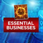 Essential vs. Non-essential businesses